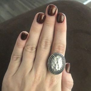 Premier designs silver ring